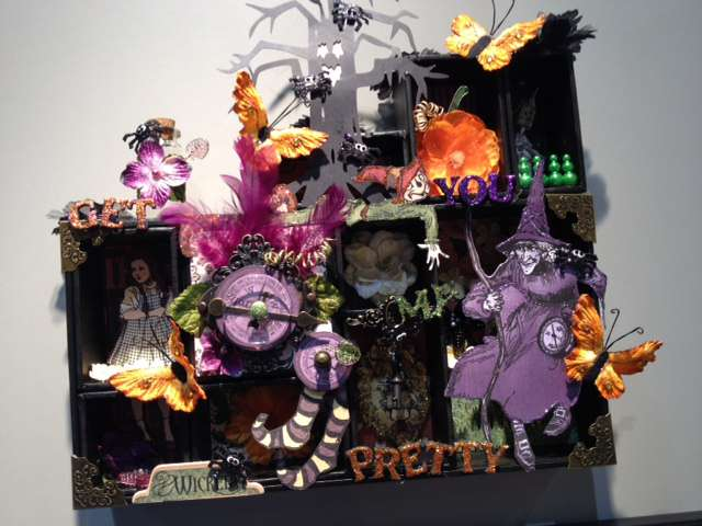 Altered Halloween Project featuring Brand New Petaloo Products