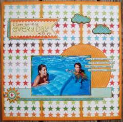 Pool fun! (Artful Delight)