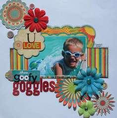 U love those goofy goggles