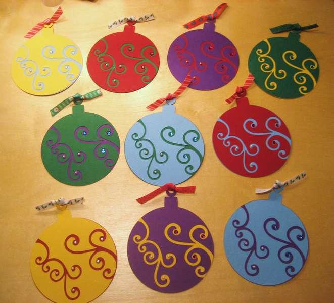 embellised diecuts swap - christmas category