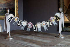 Tart Tins & Number Cards Garland *JBS*