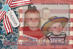 Our Independence Day Card
