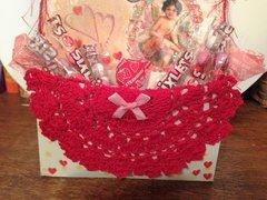 Valentines mini stand up loaded bag flip