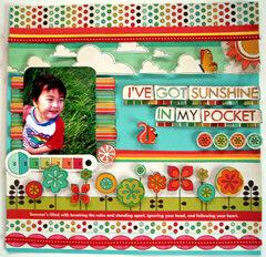 I've got sunshine in my pocket