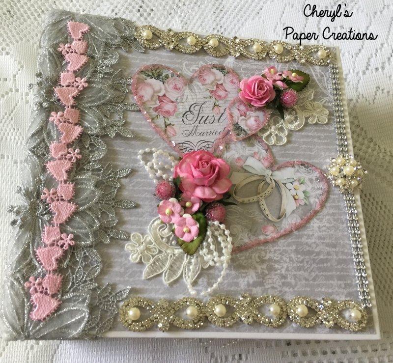 Stamperia Wedding Album