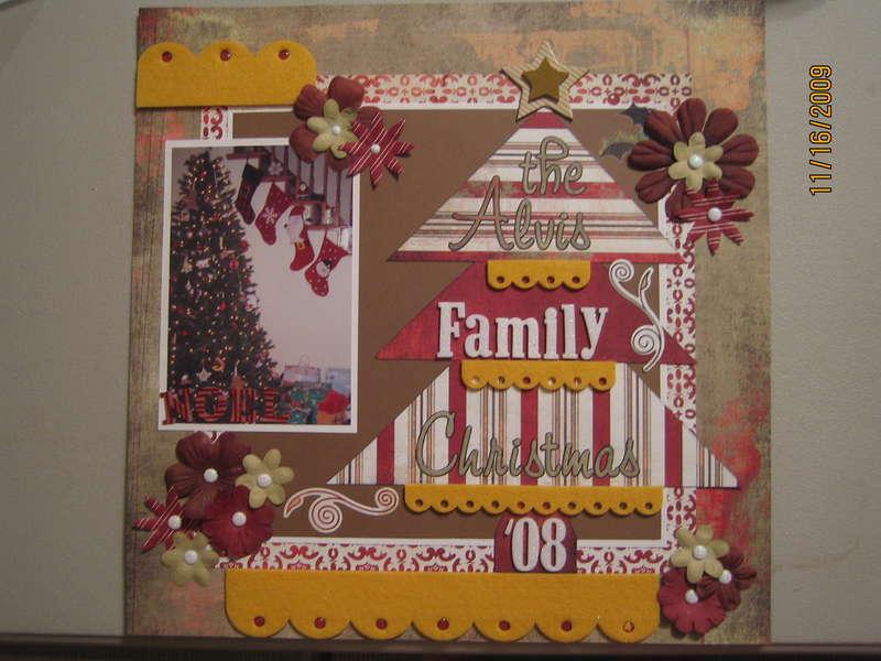 The Alvis Family Christmas '08