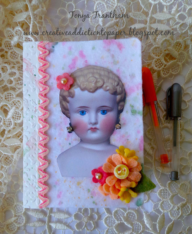 China Doll Passport Journal