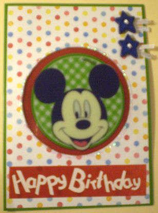 Happy Birthday - Mickey Mouse