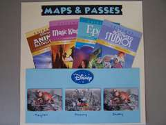 Disney Parks Maps and Passes