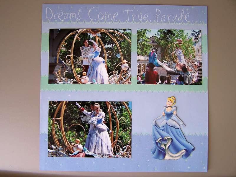 Dreams Come True Parade - Cinderella