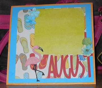 Calendar Swap - Aug
