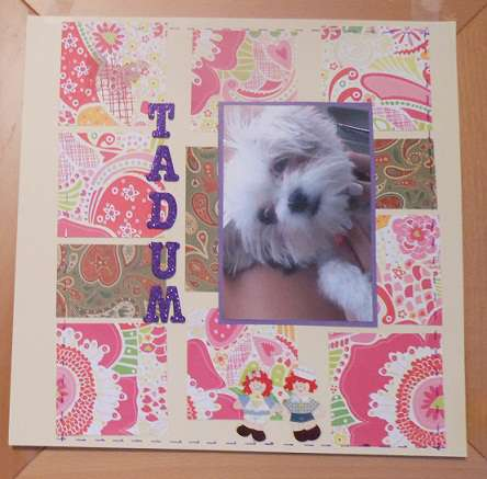 Tadum for Aug Ugly PP Challenge