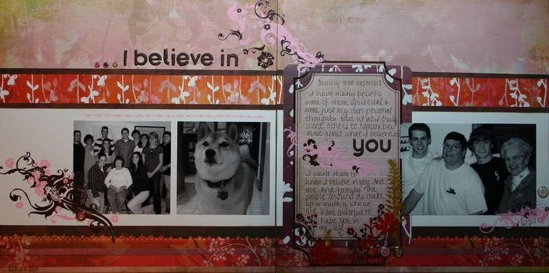 I Believe in . . .