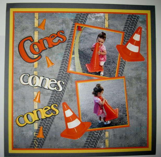 12x12 Cones