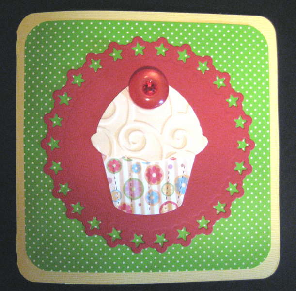 Elmo Happy Birthday Cupcake