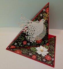 Christmas Dove Easel Card