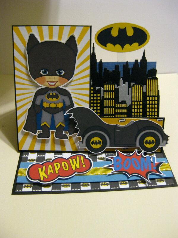 Batman Birthday Easel Card