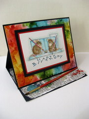 House Mouse watercolor Wishes