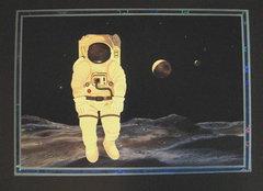 Astronaut Birthday Card
