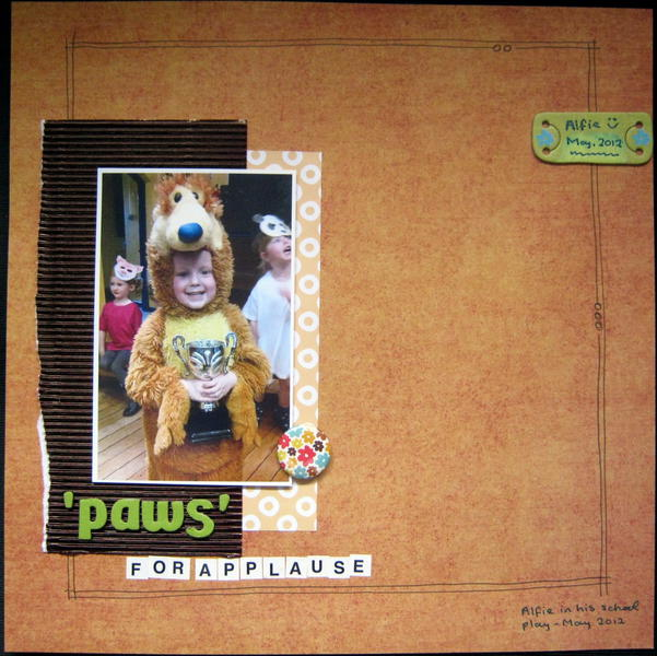 'Paws' for applause