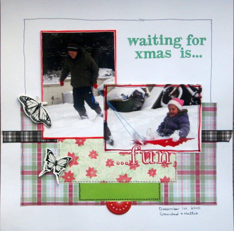 Waiting for xmas is....fun