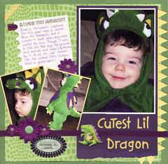 Cutest Lil Dragon
