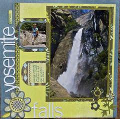 *Waiting at Yosemite Falls
