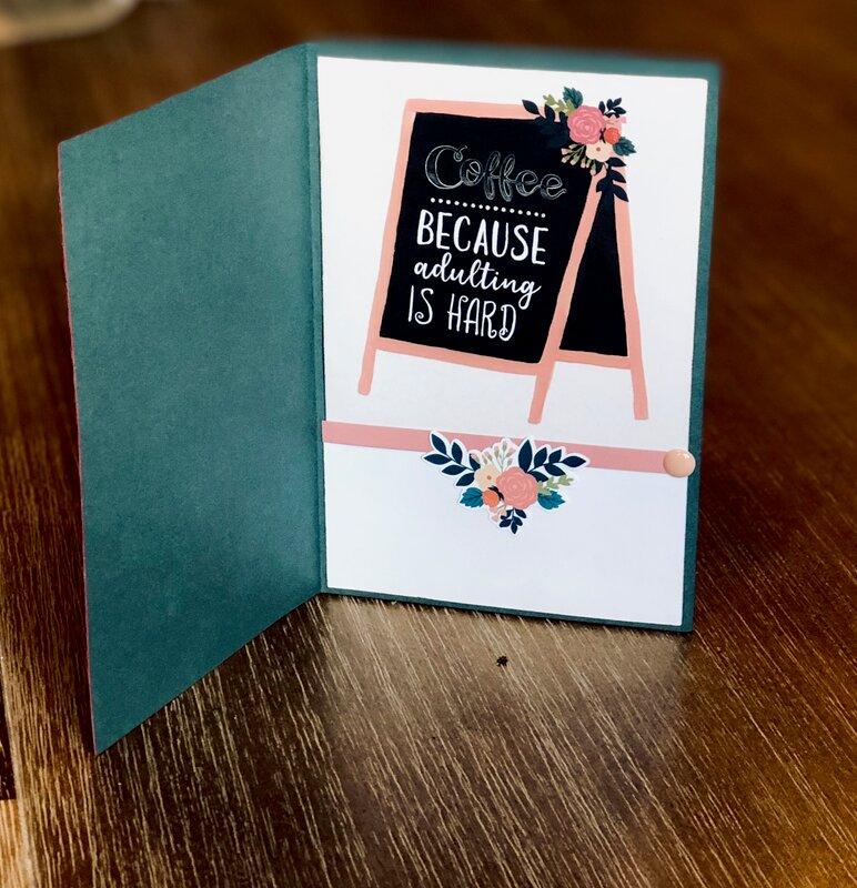 Echo Park Coffee Card - inside