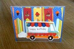 Kindergarten teacher Birthday card