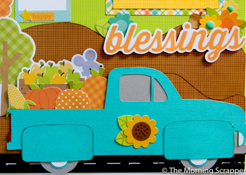 Fall Blessings -truck close up