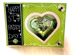 St. Patrick's Day Shaker Card