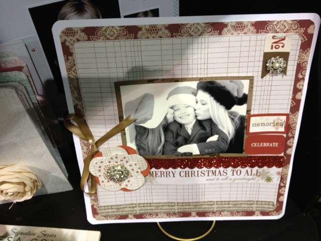 Brand New Teresa Collins Christmas Cottage Collection