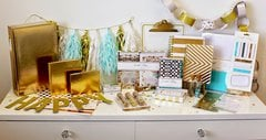Teresa Collins Studio Gold Collection - DIY Party
