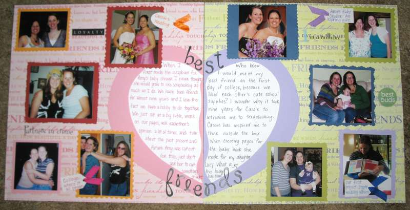 Teach a Friend to Scrapbook Contest Entry: Two Page LO