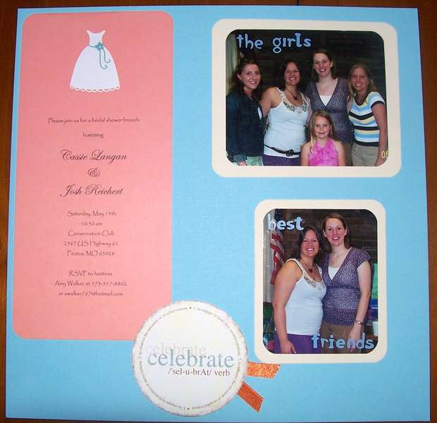 Bridal Shower Page 1