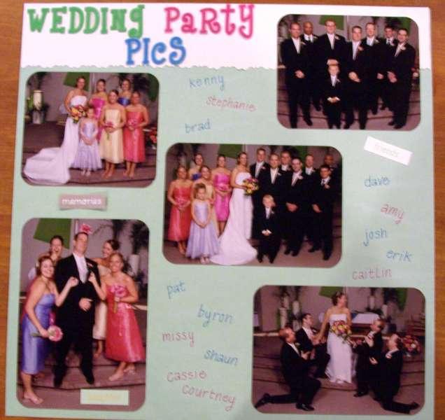 Wedding Party Pics