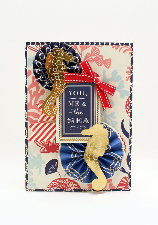 You, Me & the Sea Nautical Card