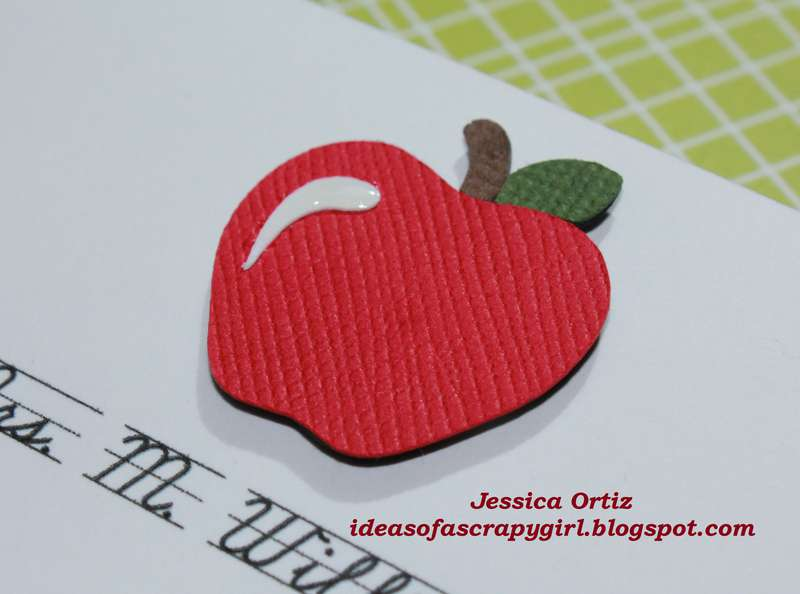 Personalized Thank You Note card (Teacher)