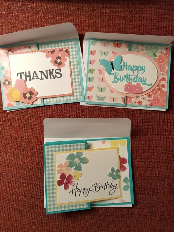 Spring Birthday and Thank You