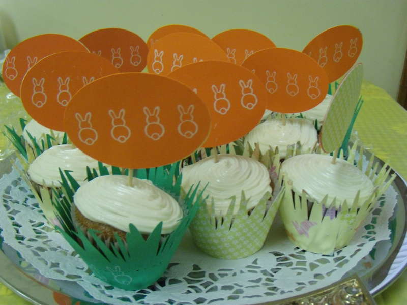 Cupcakes for Bunnies