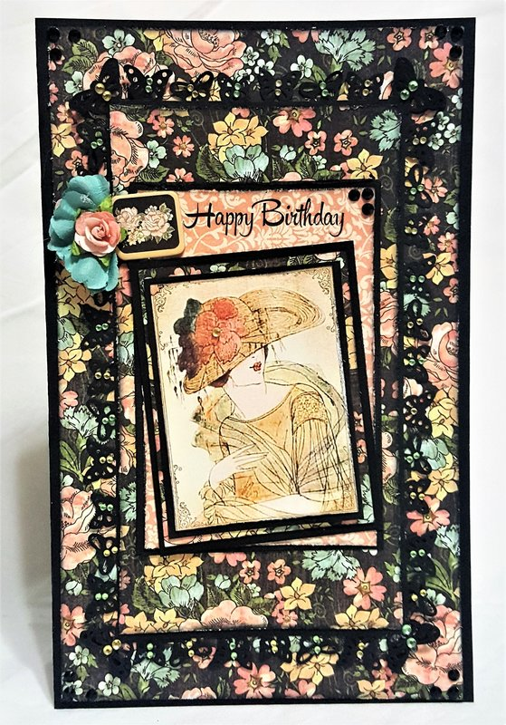 Grapic 45 birthday card