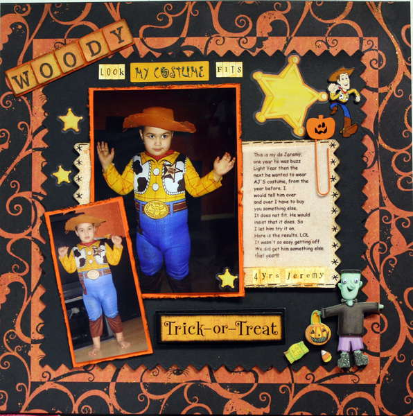 WOODY (look my costume fits)