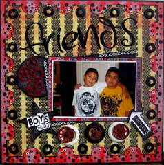 Friends-SCRAPS OF DARKNESS