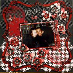 love is...Marsha & Juan