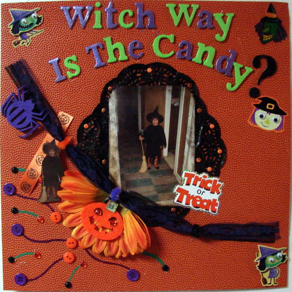 WITCH WAY IS THE CANDY?