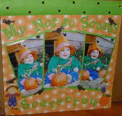Not so scarey Scarecrow
