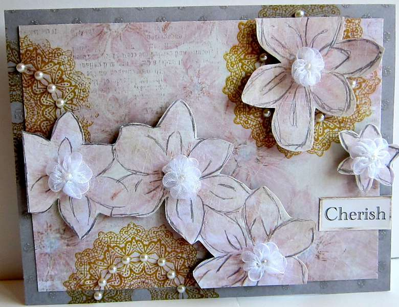 Cherish Card, August Moon Ruby Rock-It