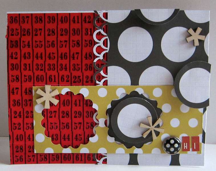 Hi Card Paper Bakery May Picket Fence Add on Kit
