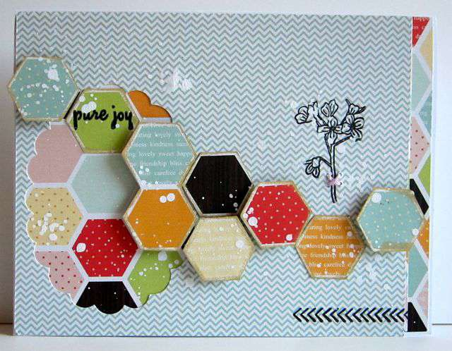 pure joy card [Paper Bakery Kit July Summer Dirt]