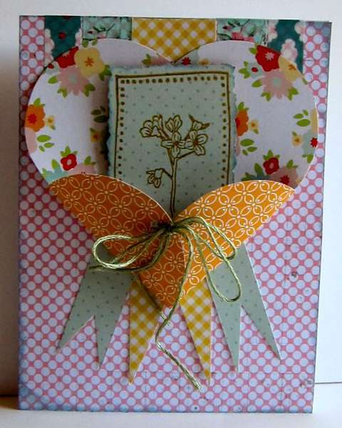 Paper Bakery General Card [July Summer Dirt kit]
